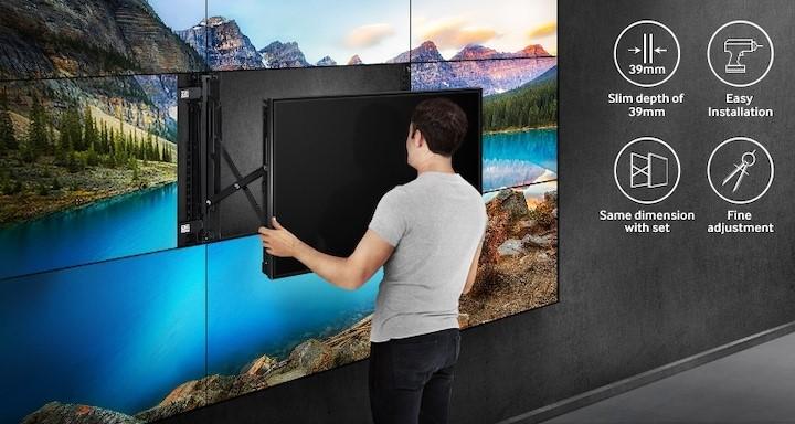 Giá treo màn hình ghép linh hoạt