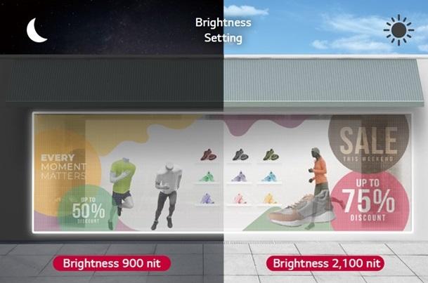 Màn hình LED LAT140 có độ sáng cao