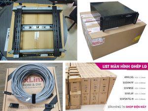 dịch vụ lắp đặt và cho thuê màn hình ghép lcd led