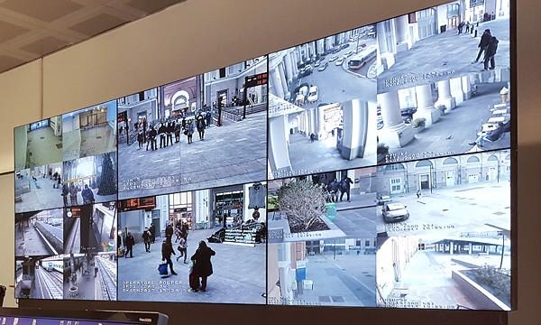 hệ thống màn hình ghép Panasonic tại Ý