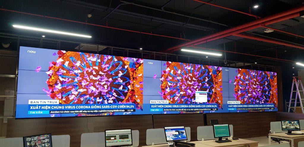 lắp đặt bộ điều khiển video wall controller VSN 982 tại Quảng Ngãi