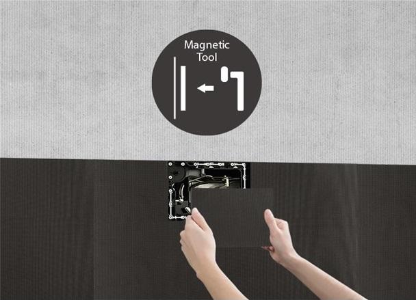 lắp đặt dễ dàng với màn hình LED LAA015F