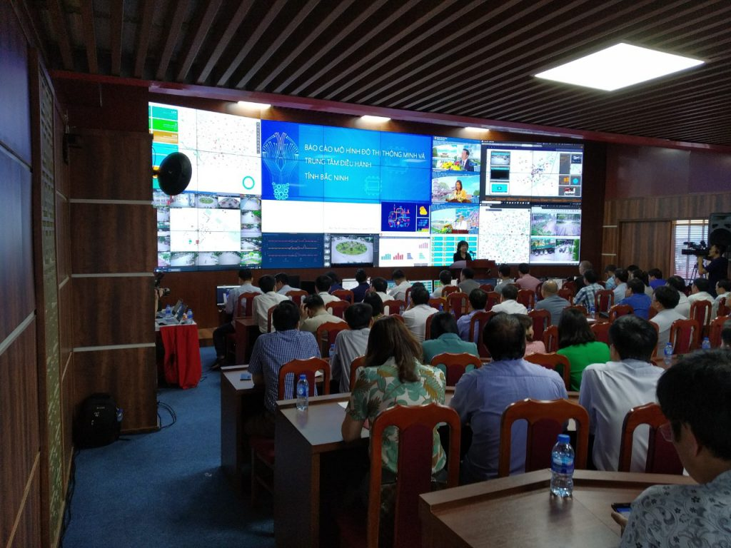 lắp đặt màn hình ghép tại Bắc Ninh