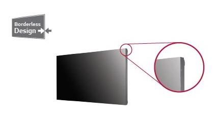 màn hình ghép có viền hẹp