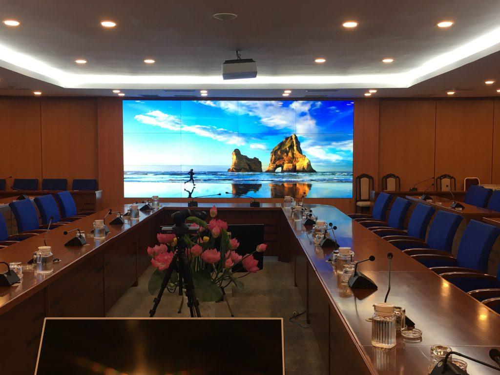 màn hình ghép phòng họp