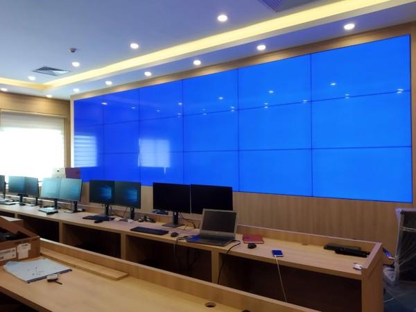màn hình ghép trung tâm điều hành bệnh viện