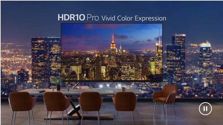 màu sắc sống động bởi HDR