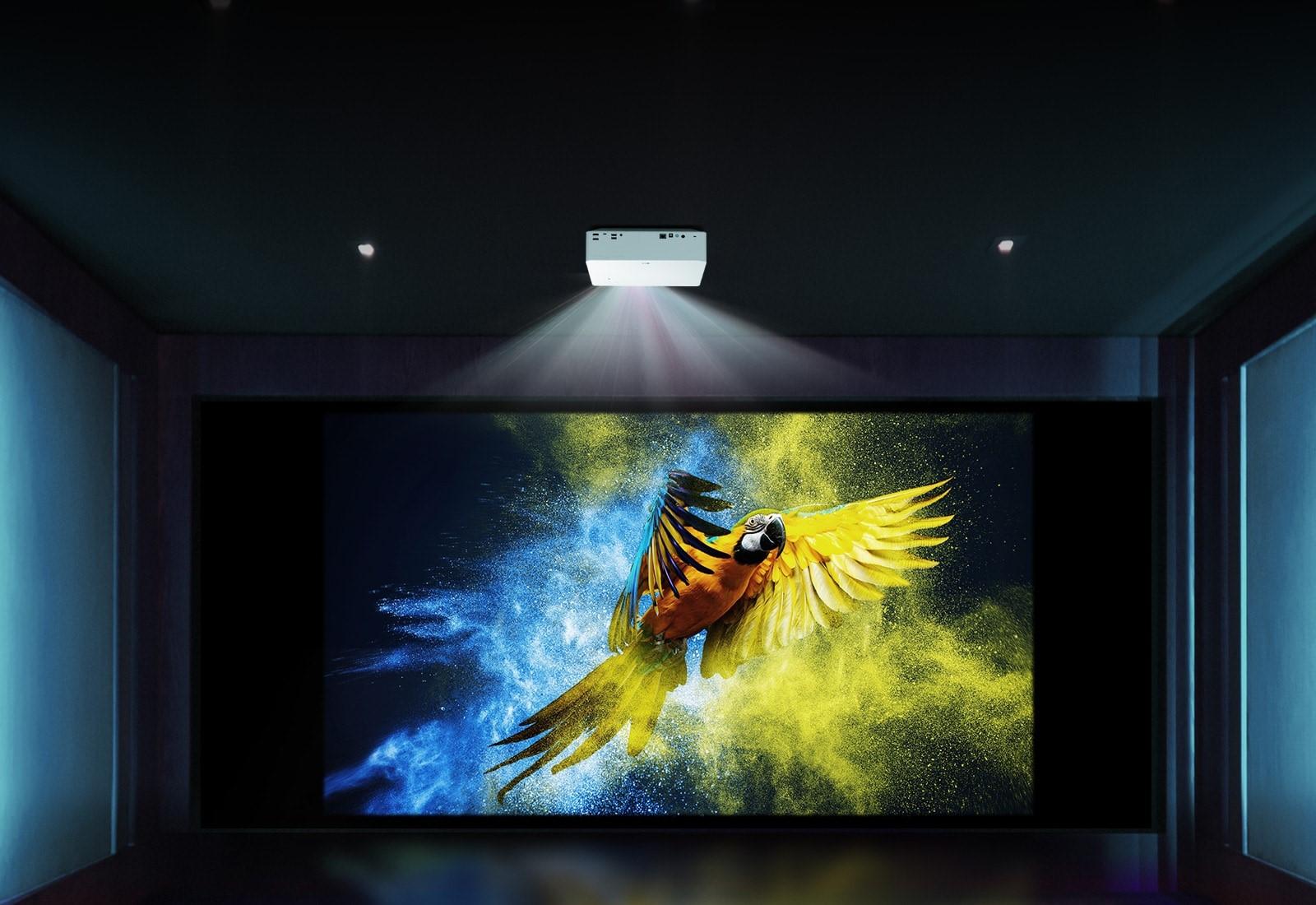 máy chiếu laser 4k