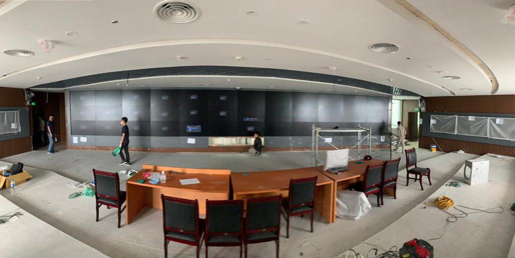 video wall controller VSN 1182 cho trung tâm điều hành
