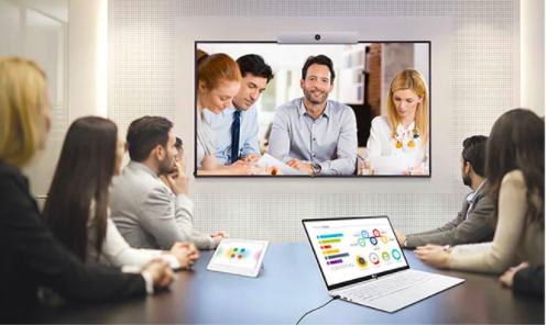 Màn hình biển báo tương thích với hệ thống hội nghị truyền hình
