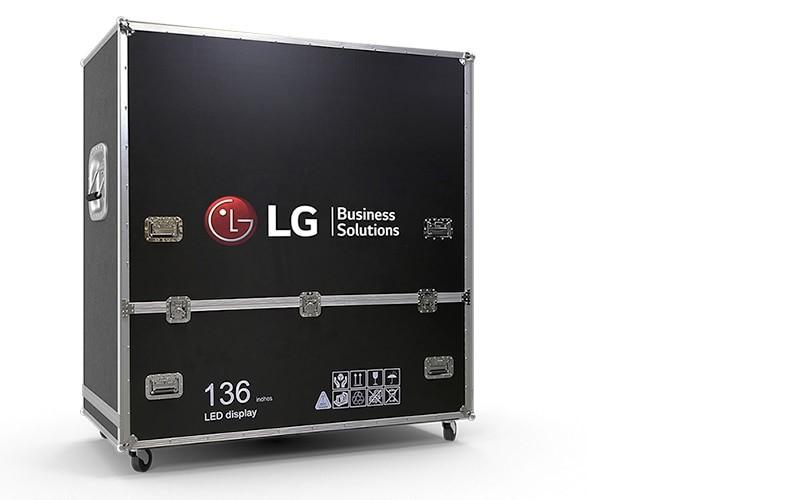 Thùng vận chuyển máy bay của màn hình hiển thị LG