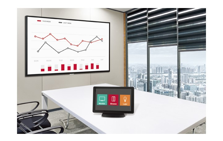Màn hình biển báo tương thích với bộ điều khiển AV