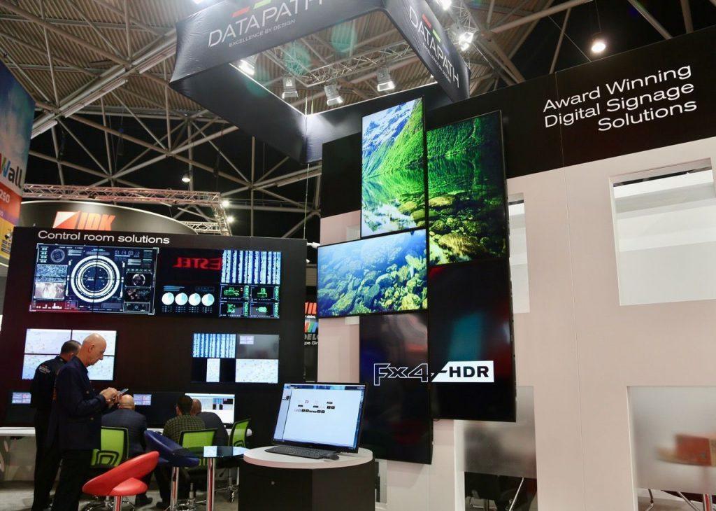 hệ thống màn hình ghép LCD