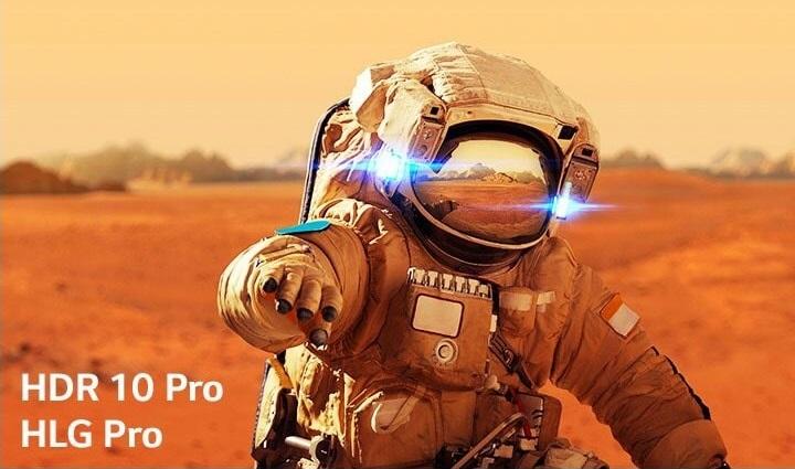 NanoCell hỗ trợ chuẩn HDR 10 Pro