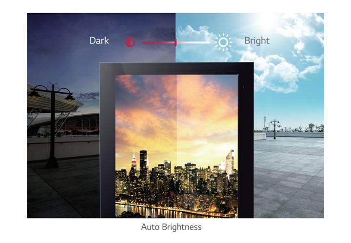 Màn hình tự động điều chỉnh ánh sáng