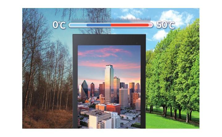 Nhiệt độ hoạt động của màn hình biển báo ngoài trời