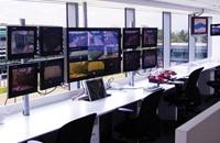 Giá treo B-tech được lắp đặt tại trung tâm phát than truyền hình