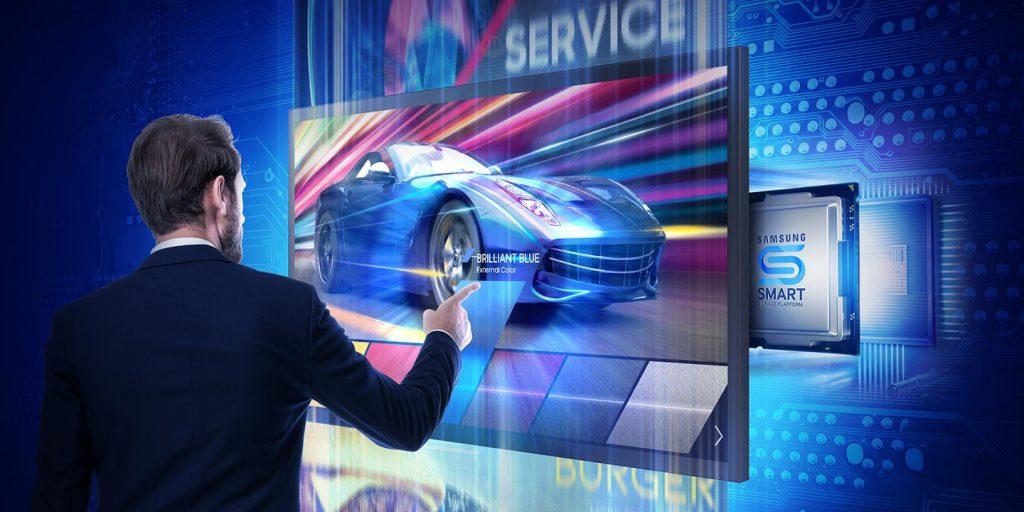 màn hình hiển thị có tính năng cảm ứng