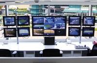 Giá treo B-tech được sử dụng tại trung tâm giám sát an ninh