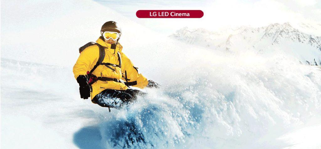 LG Led _ Tính đồng nhất cao _ Cinema