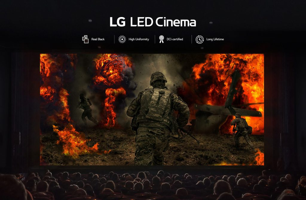 LG Led _ màn đen thực bóng tối vô tận 1