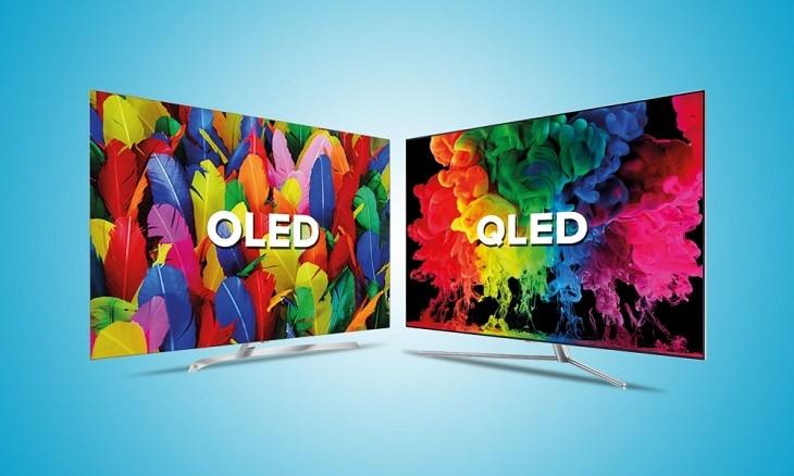 OLED QLED