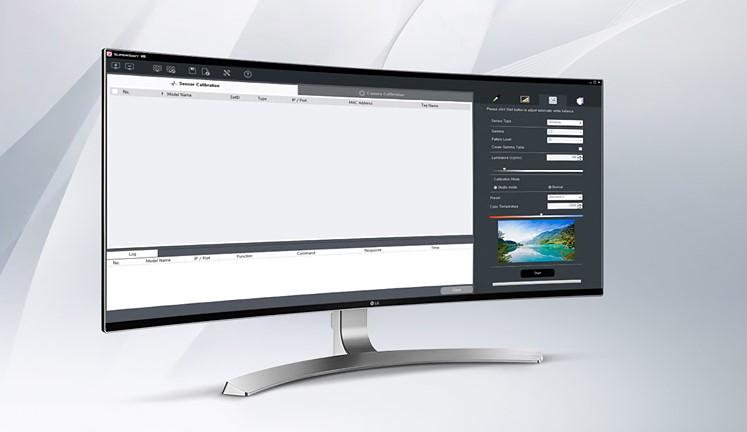 phần mềm hiệu chuẩn cân bằng trắng SuperSign C V3.7.1