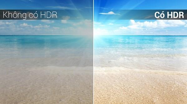 Khi có HDR