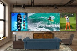 Sự kết hợp của 2 TV DVLED khi đặt cạnh nhau