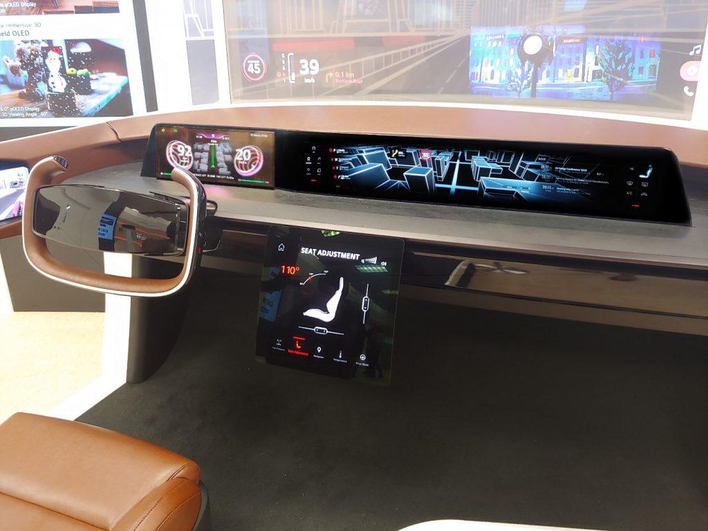màn hình hiển thị cho ô tô