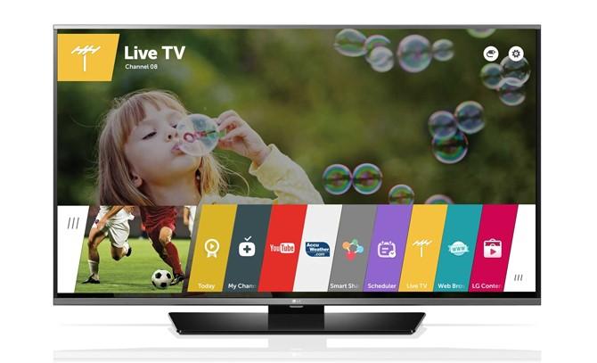nền tảng webOS trên tivi thông minh